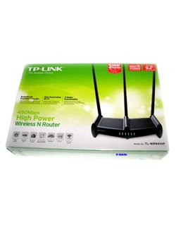 450Mbps High Power Wireless N Router  -  TL-WR941HP