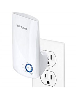 300Mbps Wireless N Wall Plugged Range Extender - TL-WA850RE