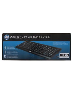 HP Wireless Keyboard K2500-Only KB